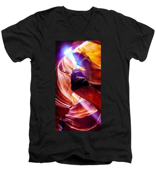 Hideout Men's V-Neck T-Shirt