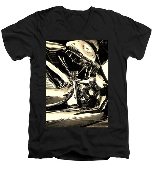 High And Mighty Men's V-Neck T-Shirt