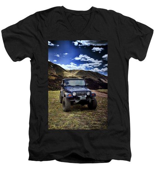 High Country Adventure Men's V-Neck T-Shirt
