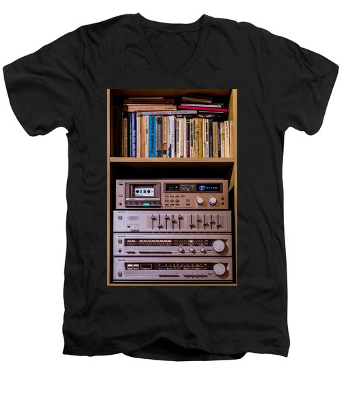 High Technology Men's V-Neck T-Shirt