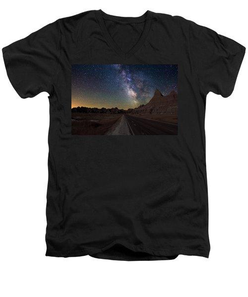 Highway To Men's V-Neck T-Shirt