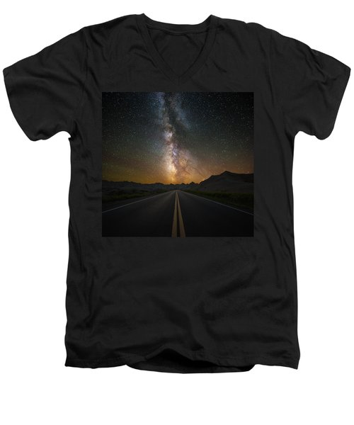 Highway To Heaven Men's V-Neck T-Shirt