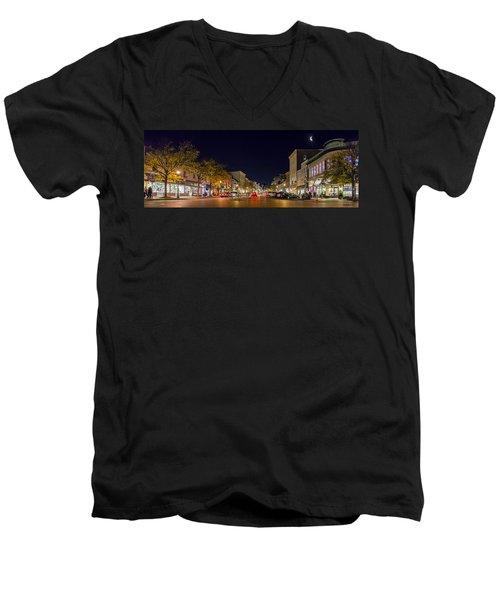 Historic Annapolis - Pano Men's V-Neck T-Shirt