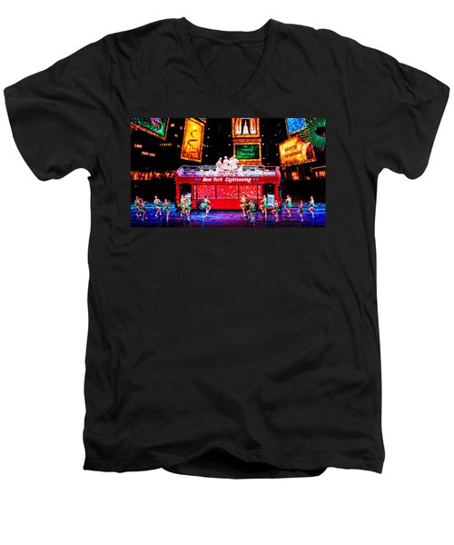 Holiday Sightseeing Men's V-Neck T-Shirt