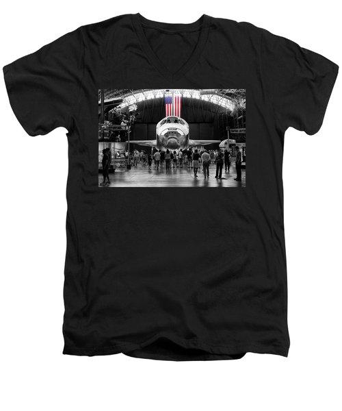 Home At Last Men's V-Neck T-Shirt by Jim Thompson