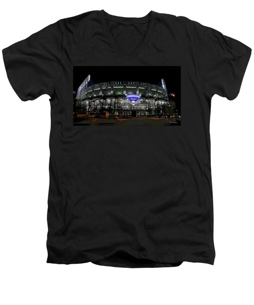 Home Of The Cleveland Indians Men's V-Neck T-Shirt