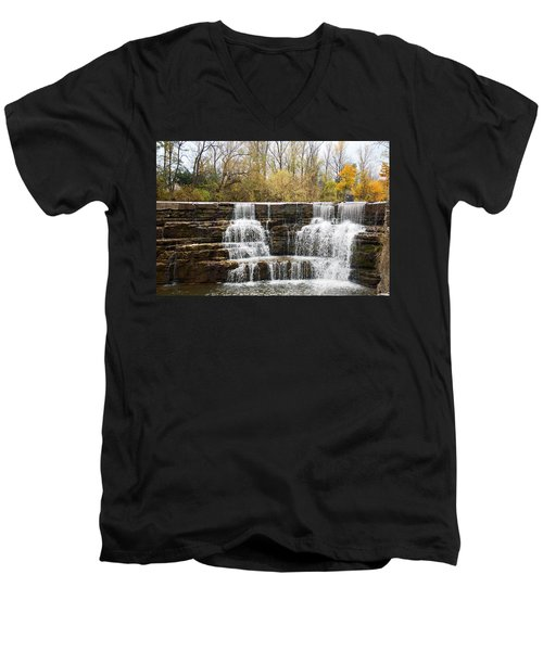 Honeoye Falls 2 Men's V-Neck T-Shirt by Aimee L Maher Photography and Art Visit ALMGallerydotcom