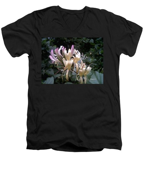 Honeysuckles Men's V-Neck T-Shirt