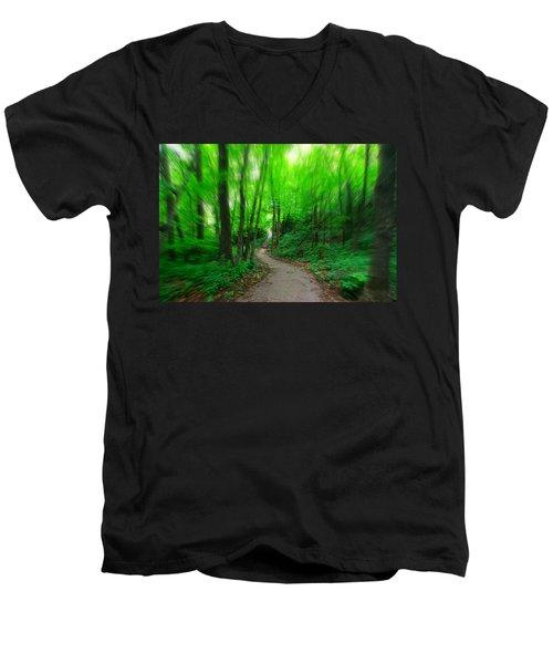Hopkins Path Men's V-Neck T-Shirt