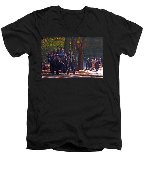 Horse Play Men's V-Neck T-Shirt