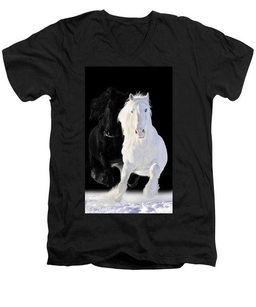 Horses Men's V-Neck T-Shirt