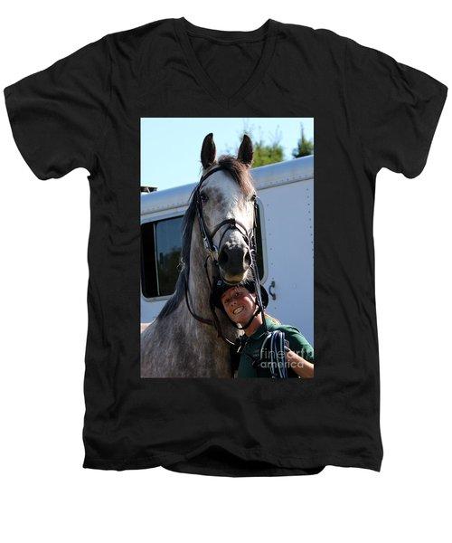 Horsin' Around Men's V-Neck T-Shirt
