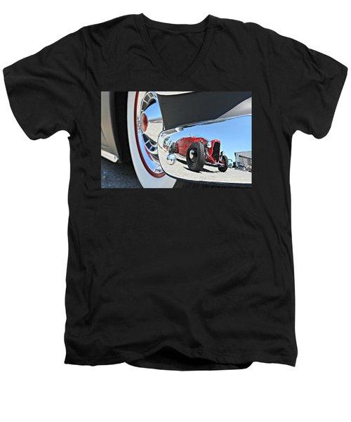 Hot Rod Reflecton  Men's V-Neck T-Shirt