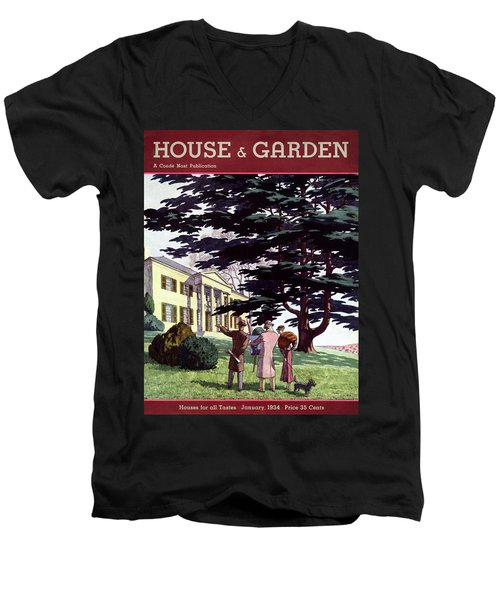 House And Garden Houses For All Tastes Cover Men's V-Neck T-Shirt