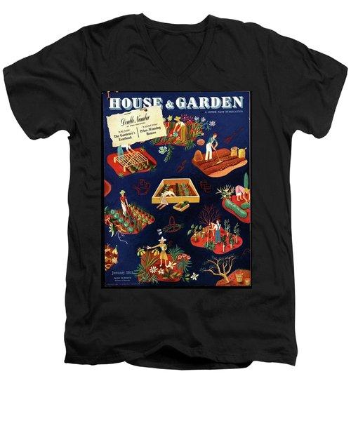 House And Garden The Gardener's Yearbook Cover Men's V-Neck T-Shirt