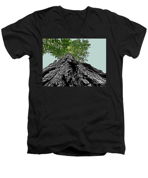 How A Chipmunk Sees A Tree Men's V-Neck T-Shirt