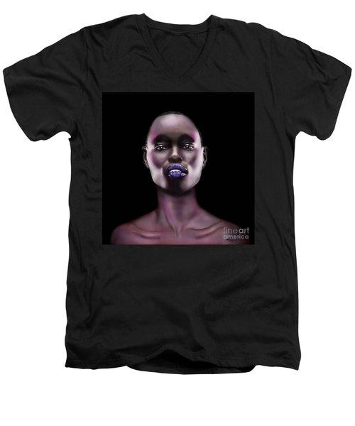 How Beautiful - The Color Purple Men's V-Neck T-Shirt