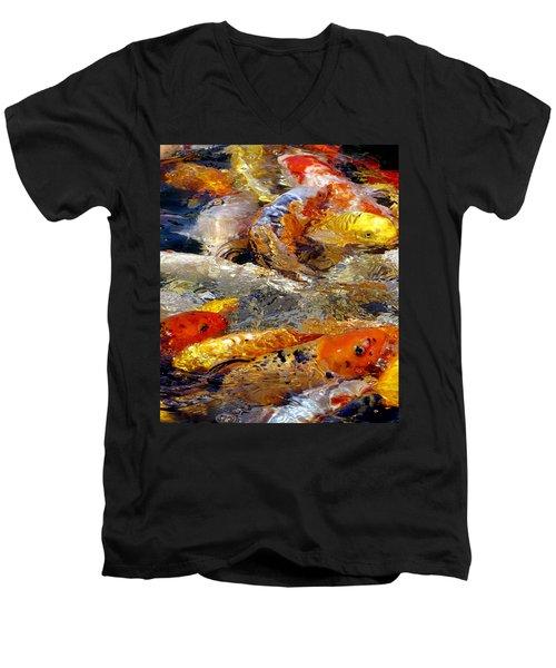 Hungry Koi Men's V-Neck T-Shirt