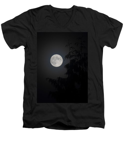 Hunters Moon Men's V-Neck T-Shirt