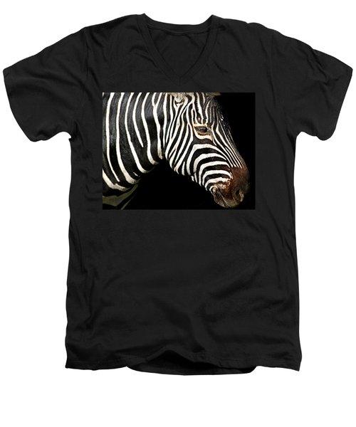 I Am A Zebra Men's V-Neck T-Shirt