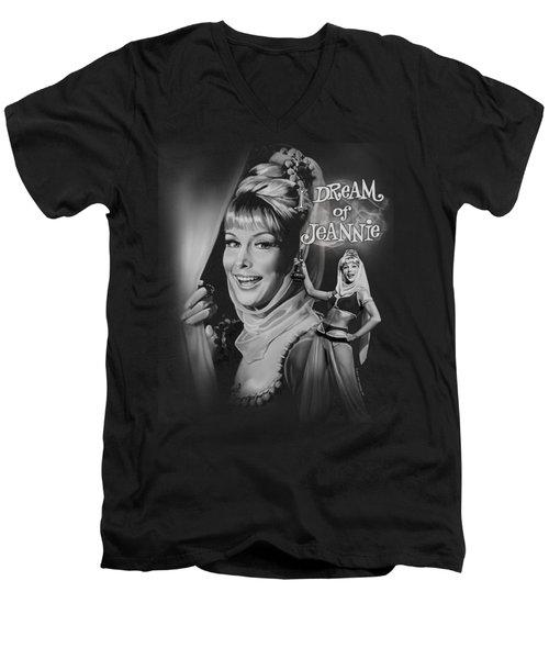 I Dream Of Jeannie - Title Men's V-Neck T-Shirt