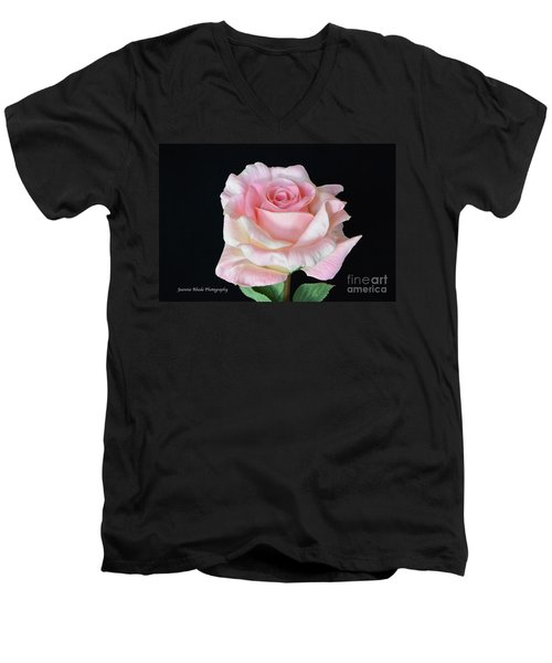 Men's V-Neck T-Shirt featuring the photograph I Love Us by Jeannie Rhode