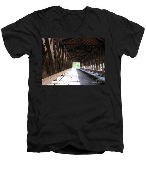 I See The Light Men's V-Neck T-Shirt by Michael Krek