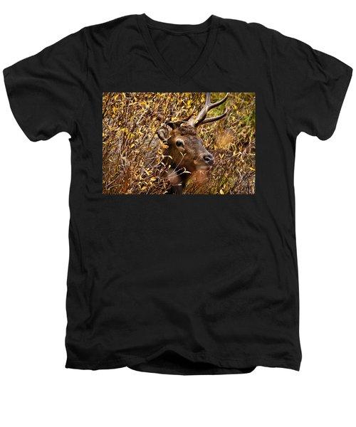 I See You Men's V-Neck T-Shirt by Steven Reed