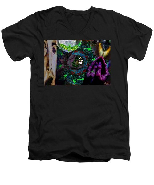 I Will See You Through Oz Men's V-Neck T-Shirt by Joseph Mosley