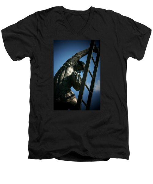 Iaff Fallen Firefighters Memorial  2 Men's V-Neck T-Shirt