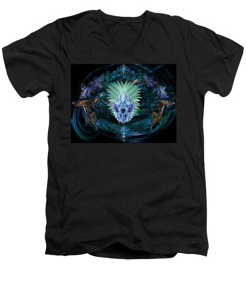 Ice Queen Men's V-Neck T-Shirt