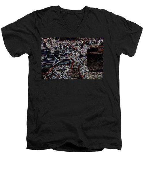 Iced Out Bikes Men's V-Neck T-Shirt