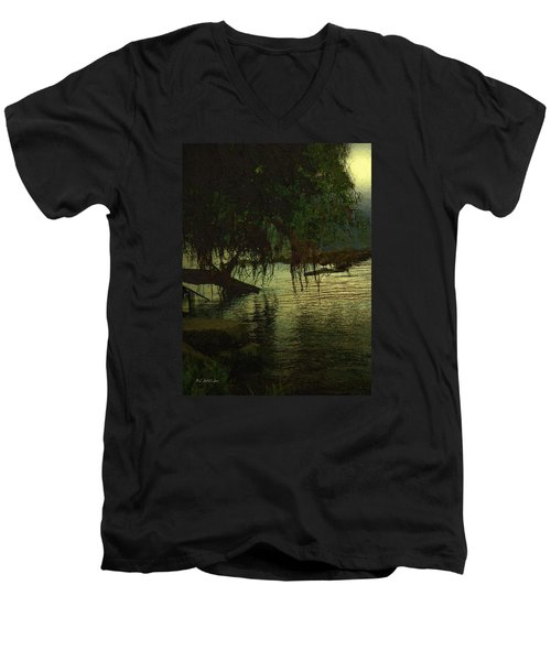 I'll Be Waiting Men's V-Neck T-Shirt by RC deWinter