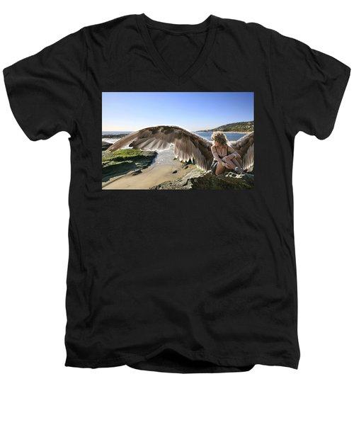 I'm A Witness To Your Life Men's V-Neck T-Shirt