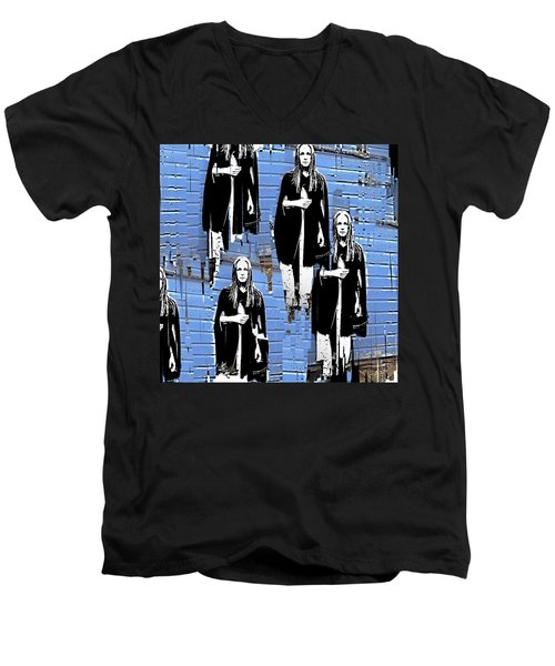 I'm Alone Men's V-Neck T-Shirt