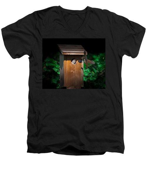 I'm Hungry Men's V-Neck T-Shirt
