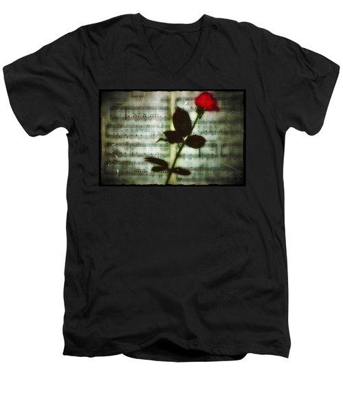 In My Life Men's V-Neck T-Shirt