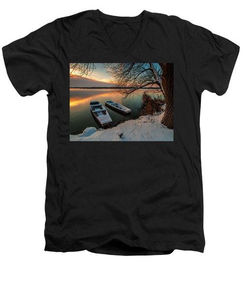In Safe Harbor Men's V-Neck T-Shirt