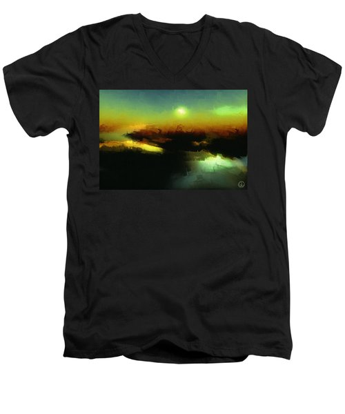 In The Afternoon Sun Men's V-Neck T-Shirt