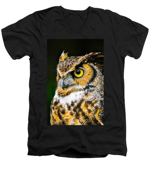 In The Eyes Men's V-Neck T-Shirt