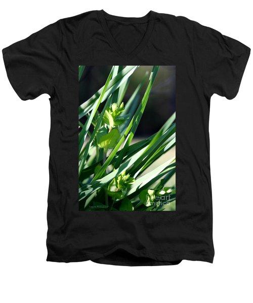 In The Grass Men's V-Neck T-Shirt