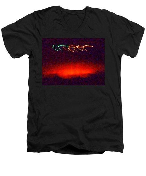 In The Midnight Hour Men's V-Neck T-Shirt