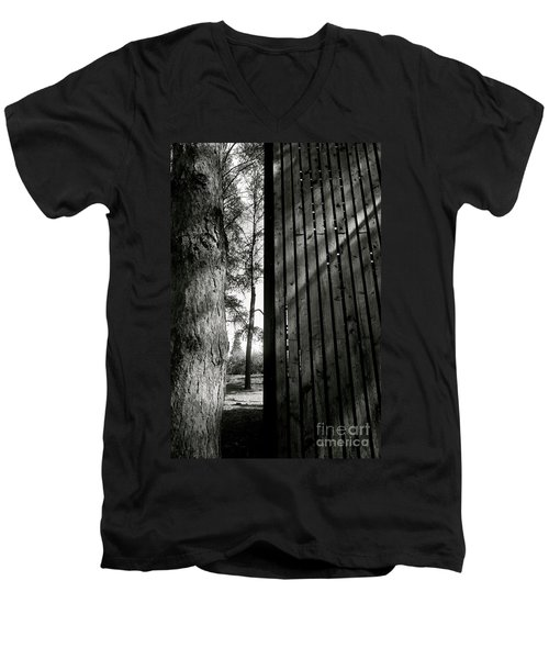 In This Space #1 Men's V-Neck T-Shirt