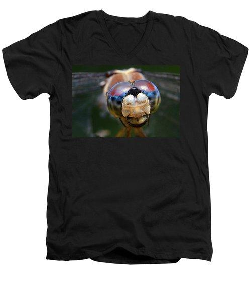 In Your Face Men's V-Neck T-Shirt