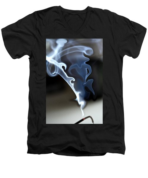 Incense Smoke Dance - Smoke - Dance Men's V-Neck T-Shirt