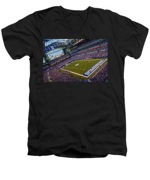 Indianapolis And The Colts Men's V-Neck T-Shirt