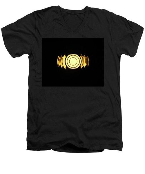 Infinite Gold By Jan Marvin Men's V-Neck T-Shirt