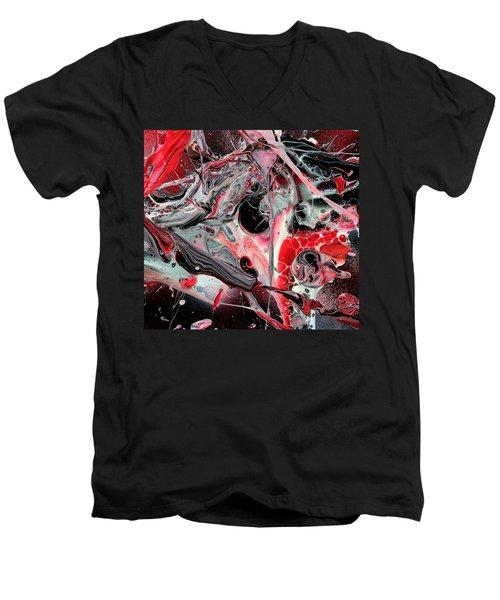 Inner Outer Space 3 Men's V-Neck T-Shirt