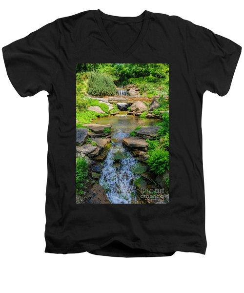 Inniswood Metro Park Photo Men's V-Neck T-Shirt
