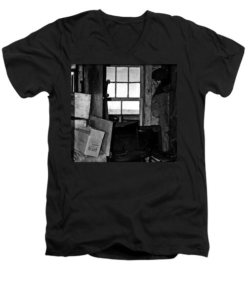 Inside Abandonment 2 Men's V-Neck T-Shirt by Tara Lynn